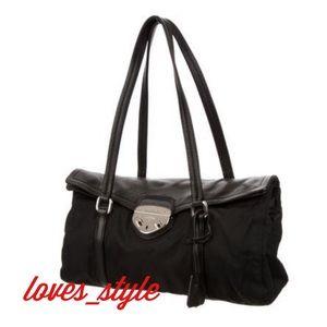 PRADA Shopping Pattina Bag